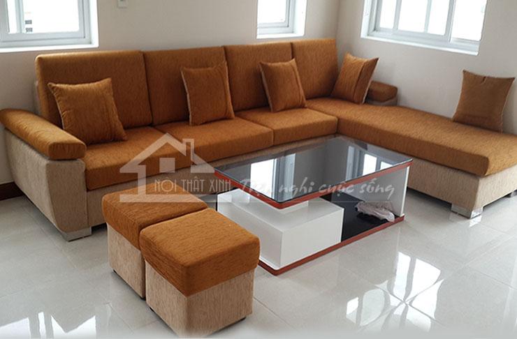 Sofa vải mã XV22