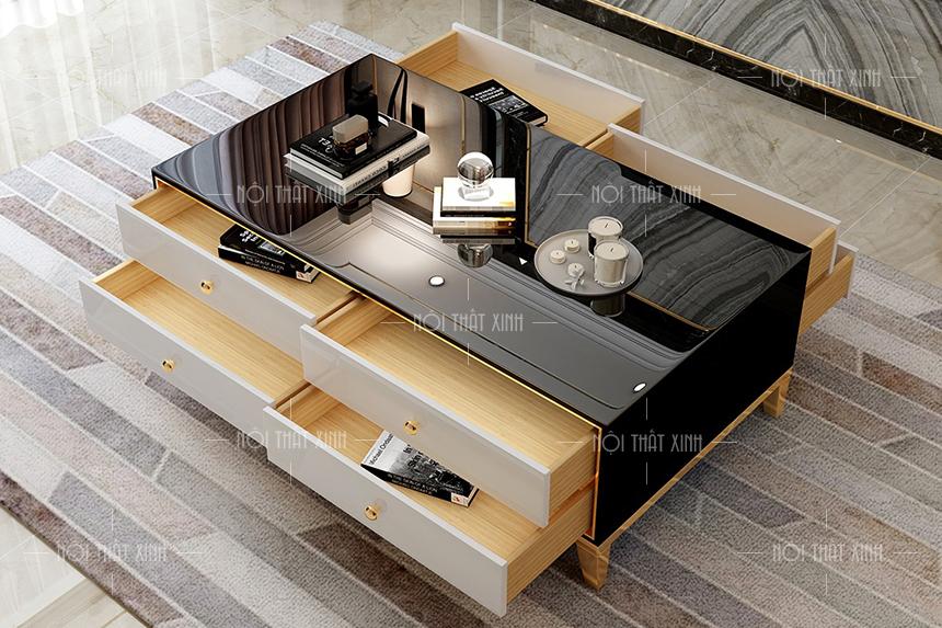 Bàn trà sofa BT917 cao cấp cho phòng khách