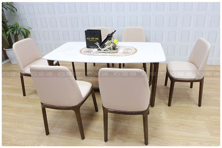 Bàn ghế ăn mã XBA193