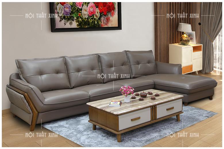 Sofa da nhập khẩu NTX1881