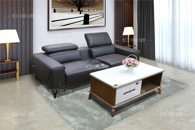 Sofa da thật Malaysia H91001-V