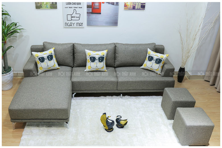 Sofa vải mã NTX1820