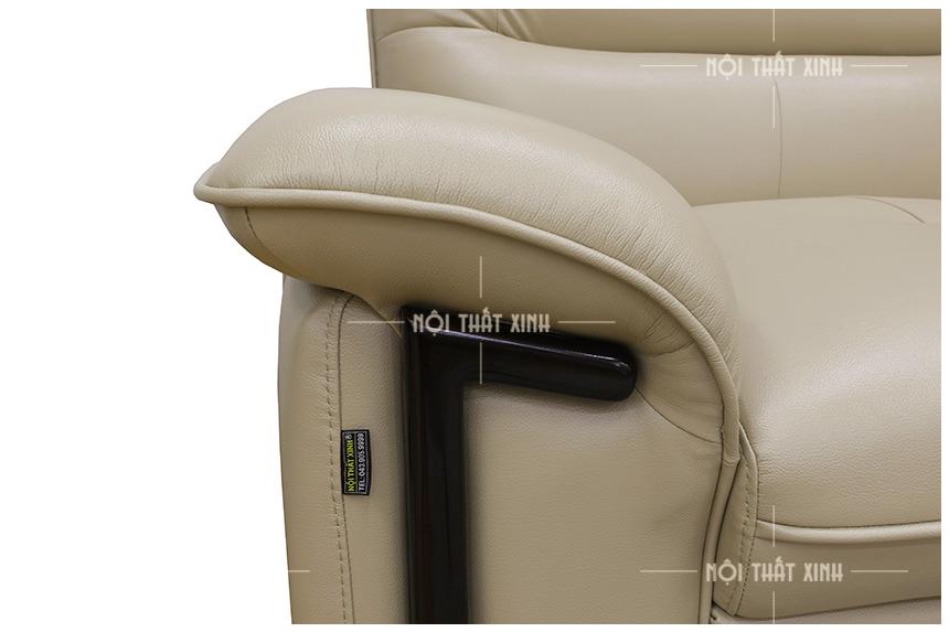sofa da thật mã NTX708