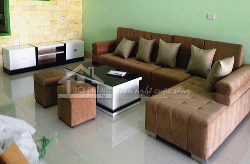 Sofa nỉ mã XN13