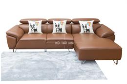 Ghế sofa góc da thật NTX1890