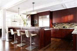 Tủ bếp gỗ xoan đào mã XXD11