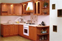 Tủ bếp gỗ xoan đào mã XXD12