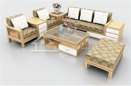 Sofa gỗ mã XGO02