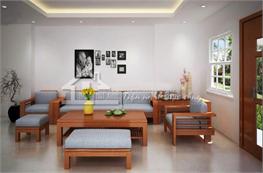 Sofa gỗ mã XGO03