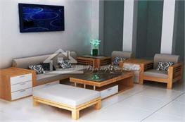 Sofa gỗ mã XGO04