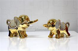 Cặp voi vàng mã X01
