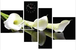 Tranh đồng hồ mã TDH005