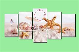 Tranh đồng hồ mã TDH011
