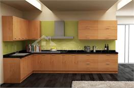 Tủ bếp gỗ công nghiệp mã XCN09