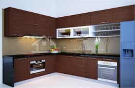 Tủ bếp gỗ công nghiệp mã XCN11