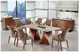 Bàn ghế ăn mã QH023