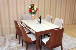 Bàn ghế ăn mã XBA184