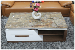 Bàn sofa mặt đá BT995