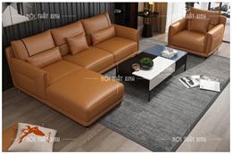Ghế sofa da nhập khẩu NTX1908