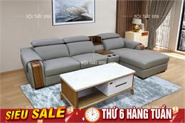 Ghế sofa da NTX1917