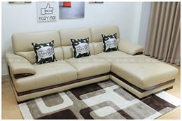 Ghế sofa da thật mã NTX701