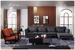 Ghế sofa nỉ đẹp NTX1912