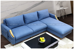 Ghế sofa vải góc NTX1839