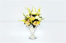 Mẫu hoa lụa đẹp H18
