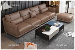 Sofa da nhập khẩu NTX1910