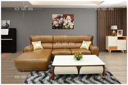 Sofa da thật mã NTX1825