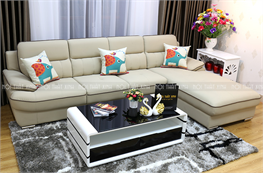 Sofa da thật mã NTX709