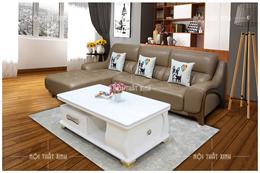 Sofa da thật mã NTX726