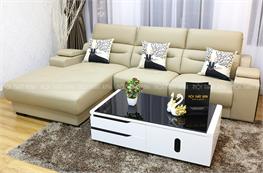 Sofa da thật nhập khẩu mã NTX703