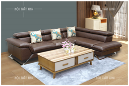 Sofa da thật nhập khẩu NTX1880