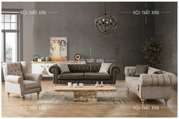 Sofa kiểu cổ điển CD1876