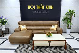 Sofa da bò nhập khẩu NTX1825