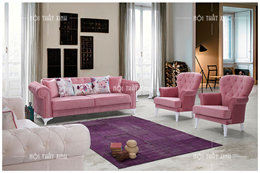 Sofa nỉ cho cửa hàng CD1863