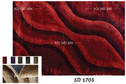 Thảm lông xù Carpet HL 5D 1705