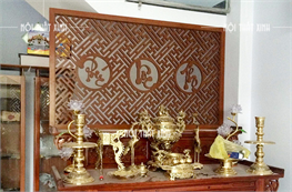 Vách ngăn bàn thờ XV1828