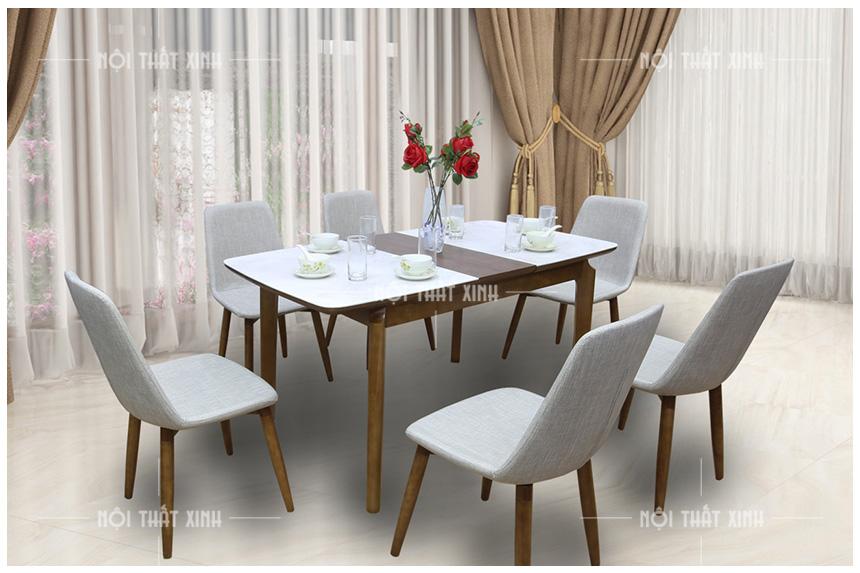 TOP 5 bộ bàn ghế ăn đẹp bằng gỗ đáng mua nhất năm nay!