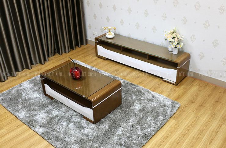 Top 10 mẫu combo bàn trà và kệ tivi dành cho phòng khách được ưa chuộng nhất