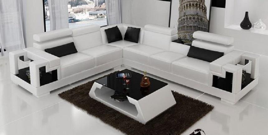 Kết quả hình ảnh cho ghế sofa màu trắng
