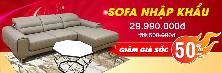 Ghế sofa nhập khẩu malaysia cao cấp khuyến mãi 50%