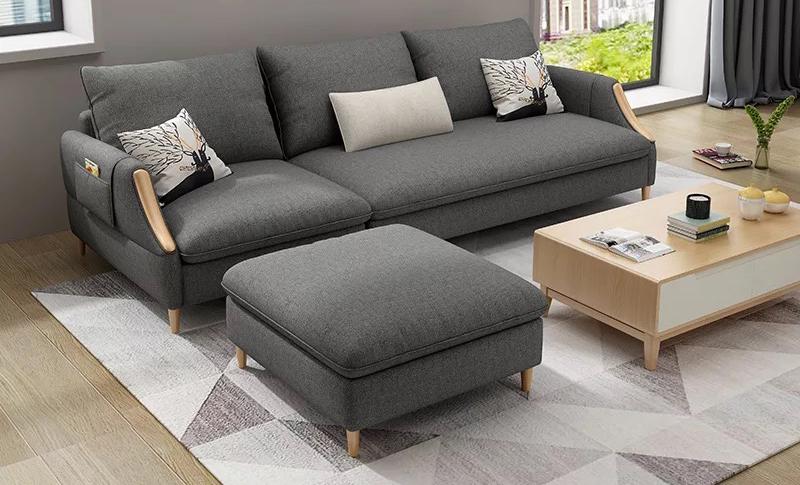 Kết quả hình ảnh cho sofa nỉ