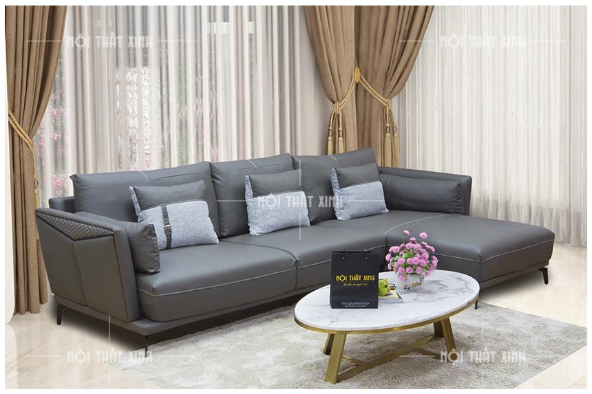 Nên mua ghế sofa da hay nỉ hoặc vải tốt nhất cho không gian sống?
