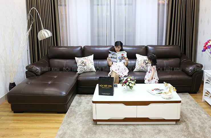 Nên dùng sofa da hay vải nỉ tốt nhất cho không gian sống?