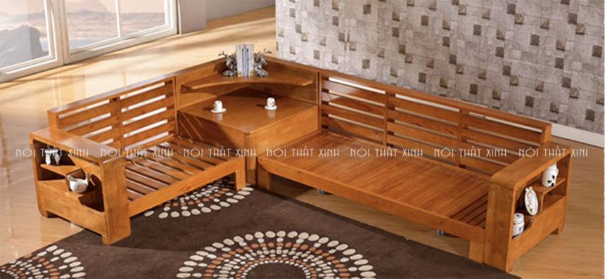 Cac Mẫu Sofa Gỗ Goc đẹp Va Hiện đại Cho Phong Khach