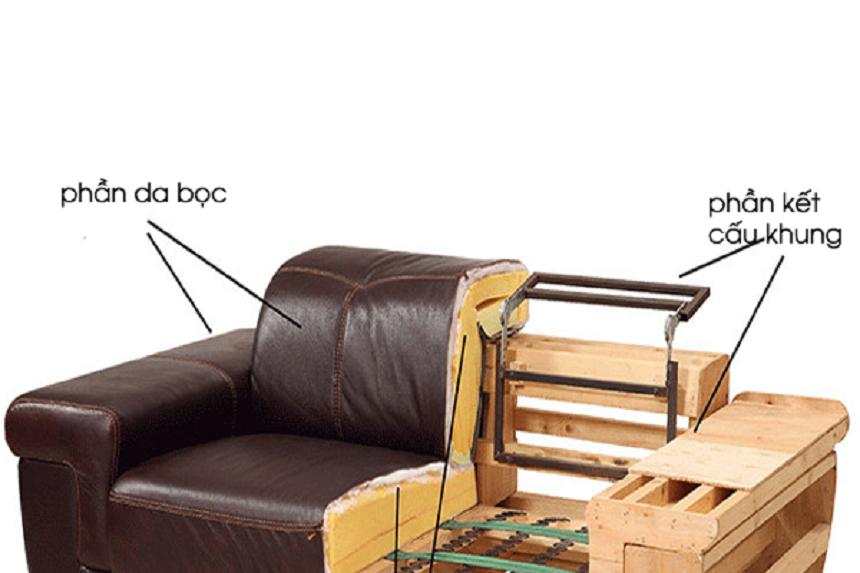 Thiết kế bộ sofa khá phức tạp do đó chất liệu kém dễ ảnh hưởng tới vẻ đẹp của bộ ghế