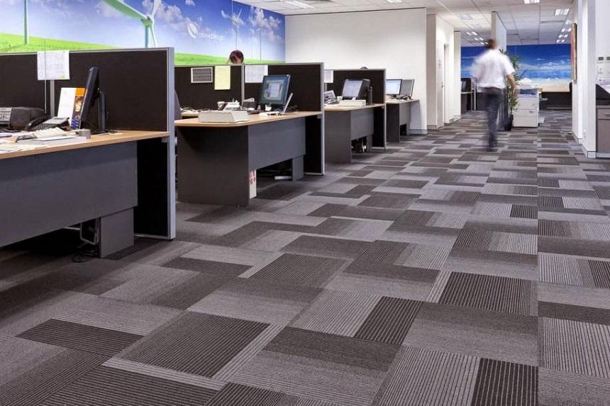 Thảm trải sàn – sản phẩm tối ưu cho văn phòng hiện đại