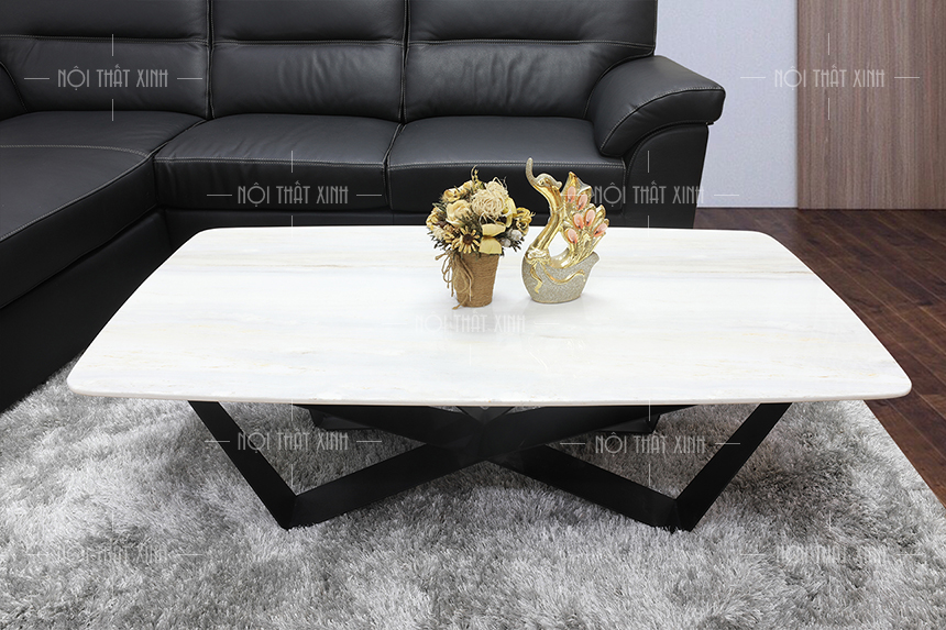 Top 10 mẫu bàn sofa chân sắt được yêu thích nhất